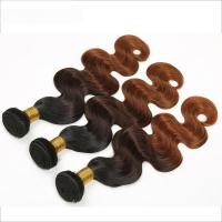 "Quality 1b/4/30 Grade 7A Ombre Hair Weave 10""-30"" Thick And Full Hair Ends wholesale"