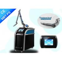 Quality Real 755nm Picosecond Laser Tattoo Removal For All Color Tattoo Removal and Black Doll wholesale