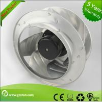 Quality Filtering FFU AC Centrifugal Fan With Backward Curved Motorized Impeller wholesale