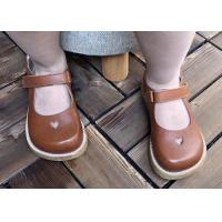China Leather Mary Jane Flexible Outsole Toddler Dress Shoes on sale