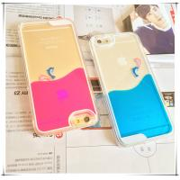Cheap Drop proof Flowing Liquid PC Hard iphone protective cover For 6 / 6s for sale
