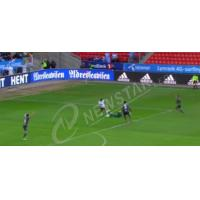 China Flexible P12 Outdoor Advertising LED Display Signs For Stadium Perimeter , 5800cd/sqm on sale