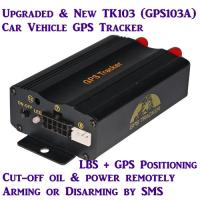 Quality GPS103A Global Car AVL Vehicle GPS SMS GPRS Tracker W/ Cut-off & Resume Oil & Power by SMS wholesale
