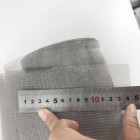 China Heat Resistant Woven 0.1m Nichrome Wire Mesh on sale