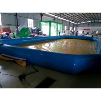 China Attractive 0.9MM PVC Tarpaulin Inflatable Swimming Pool For Outdoor 1 Year Warranty on sale