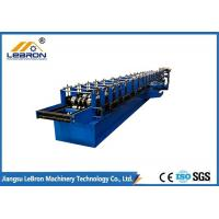 China Half Round Metal Gutter Rolling Machine High Efficency 8~15m/min Forming Speed on sale