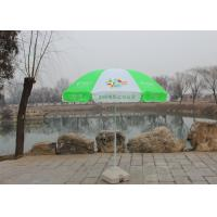 Quality Handle Open Advertising Round Outdoor Umbrella With 210D Oxford Fabric wholesale