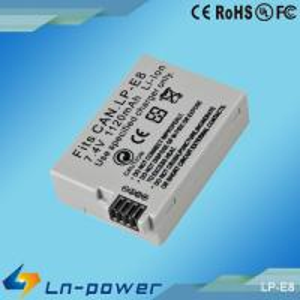 Quality Replacement digital Camera battery for Canon LP-E8 LPE8 E8 550D/600D wholesale