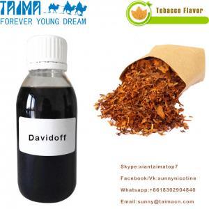 Quality 2018 most popular high quality Tobacco essence concentrate Davidoff flavor for E-liquid wholesale