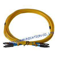 Quality Yellow MU Fiber Optic Patch Cord G.657A Bend Insensitive Fiber LSZH Jacket wholesale