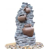 Quality Customize Size Contemporary Outdoor Patio Water Fountains With Lights wholesale
