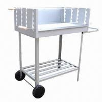 Quality Trolley Charcoal Barbecue Grill, Wheeled for Easy Maneuverability wholesale