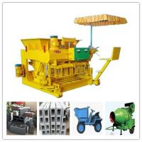 Quality QMY6-25 Concrete Moving Brick Making Machine Price wholesale