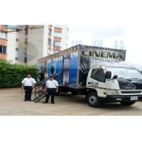 Quality Columbia Mobile 5D Cinema , Exiciting Car Cinema Snow Simulation wholesale