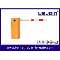 Buy cheap Car Parking barrier gate / Highway toll system barrier gate / folded arm barrier from wholesalers