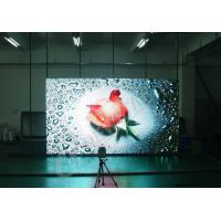 China Transparent Slim Full HD LED Display Indoor Video Wall Screen , High Resolution on sale
