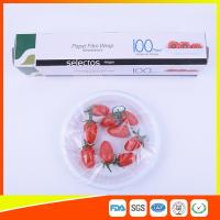 Quality Plastic Kitchen Wrap Stretch Film Moisture Proof For Fruit Fresh Keeping wholesale