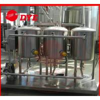 Quality 100L Small SS304 Cip Cleaning System Mirror Polish Interior Surface wholesale