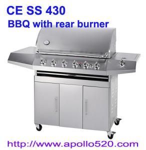 Quality Full SS 6 Burner Infrared Burner BBQ Grill wholesale