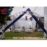 China 6082 Aluminum Stage Roof Truss / Light Weight Stage Lighting Scaffolding Boda on sale