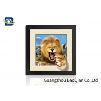 Quality Animal 3D 5D Photography , Lenticular Image PrintingHome / Bedroom Wall Art Decor wholesale
