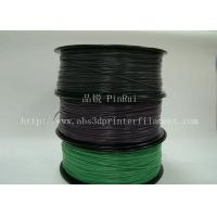 Cheap ABS 3d printer material Color Changing Filament 1.75 / 3.0mm three colors for sale