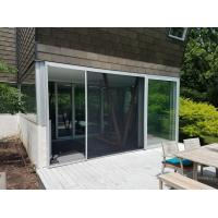China Roll left & right Retractable flyscreens for window and door for sale