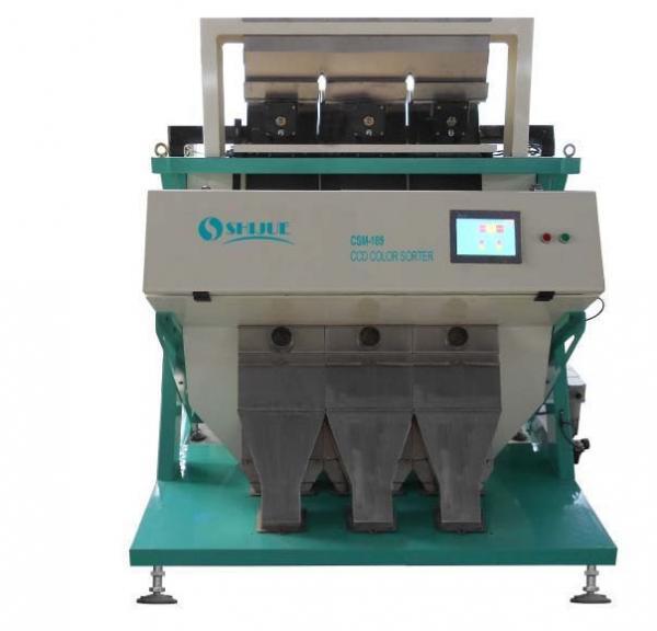 Cheap Peanut Kernel Led Grain Sorting Machine / Rice Colour Sorter Machine for sale