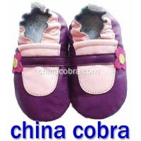 Genuine Leather Soft Sole Leather Baby Shoes High Quality