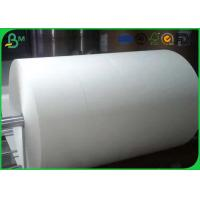 Quality One / Two Side Coated Glossy Art Paper Jumbo Roll For Making Stick Paper wholesale