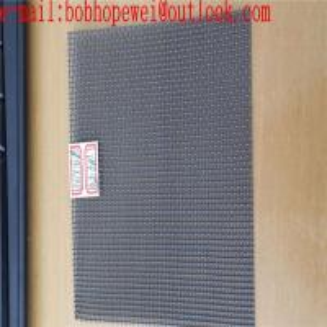 China titanium woven wire mesh screen/titanium dental mesh/lab used white ti wire mesh or black ti wire mesh supply on sale
