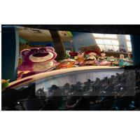 Quality 4D Movie Theater With High Definition 3D Image / 7.1 Audio System wholesale