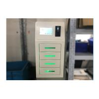 Quality White Bar Restaurant Cell Phone Charging Stations Free Pay With 4 Lockers wholesale
