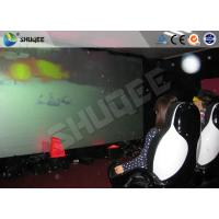 Quality 3 People Electronic System 5D Truck Mobile Cinema With Luxury Chair wholesale