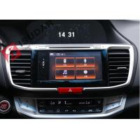 Cheap HD 1024*600 2013-2016 Honda Accord Navigation System With 4G RADIO 10.1 Inch for sale