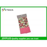 Quality Non Woven Microfiber Cleaning Cloth Wth Printed Pattern Customized Color / Size wholesale