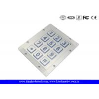 Quality IP68 Hyper Ruggedized Piezo Keypad , Ideal For Use In Rough Enviroments wholesale