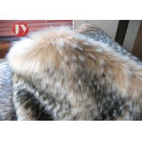 Quality Garment Fawn Faux Fur Fabric Luxury Long Pile Imitation Bambi Boots Toys wholesale