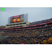 China RGB outdoor electronic led display boards, High definition for Football Stadium on sale
