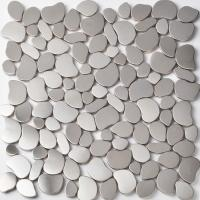 Quality Commercial Pebble Metallic Mosaic Tiles Mosaic Pieces For Shower Floor wholesale