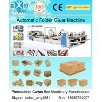 Quality High Speed Carton Automatic Folder Gluer Machine QF Series 140 Pieces / Min wholesale