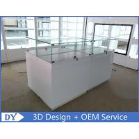 Quality Simple Wood Jewelry Display Case For Jewelry Showroom Display wholesale