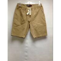 Quality Casual Style Mens Colored Chinos Twill Pants , Simple Design Mens Short Beach Pants wholesale