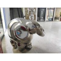 Quality Abstract ODM / OEM Accept Metal Animal Sculptures Statue For Garden Decor wholesale