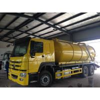 China 4m3 - 16m3 Sewage Sewage Suction Truck Dumping System With High Pressure Italian Jurop on sale