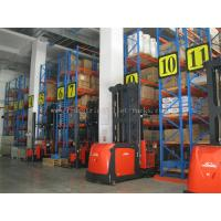 Quality 5m / 16.5 FT Height Narrow Ailse Industrial Pallet Rack System Saving Space & Manpower wholesale