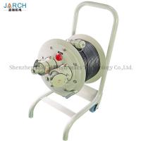Quality IP65 Explosion Proof Cable Reel Tray , Mobile Cretractable Cord Reel 30-100m Length wholesale