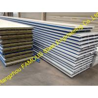 Quality Construction PU Insulated Sandwich Panels Polyurethane Foam Steel wholesale