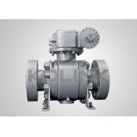 Quality 2 - 48 inch High Pressure Ball Valve Forged Steel PEEK Seat Class 2500 PN420 wholesale