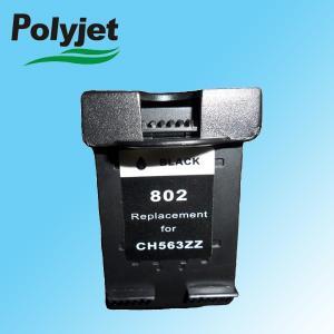 China HP802  black remanufactured ink cartridge for HP Deskjet 1050/2050/1000 on sale